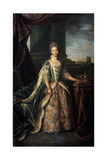 Portrait of Charlotte of Mecklenburg-Strelitz, Wife of King George III of England, 1773 Giclee Print by Nathaniel Dance-Holland