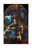 The Virgin of the Rocks, 1491-1519 Giclee Print by  Leonardo da Vinci