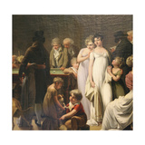 Game of Billiards, 1807 Giclee Print by Louis Leopold Boilly