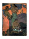 Women on the Seashore (The Motherhood), 1899 Reproduction procédé giclée par Paul Gauguin