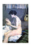 Study of a Nude, 1880 Giclee Print by Paul Gauguin