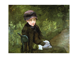 Young Lady in the Park, C1880 Giclee Print by Mary Cassatt