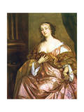 Elizabeth Hamilton, Countess of Gramont, C1660S Giclee Print by Peter Lely