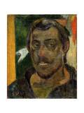Self-Portrait, 1890-1894 ジクレープリント : ポール・ゴーギャン