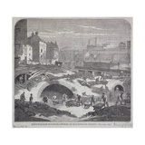 Blackfriars Bridge, London, 1863 Giclee Print by Mason Jackson