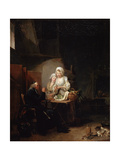 An Old Curate, Late 1780S Giclee Print by Louis Leopold Boilly