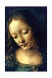 Madonna of the Rocks (Detail), 1482-1486 Giclée-tryk af Leonardo da Vinci