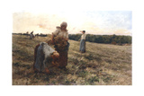 Gleaners at Sunset, 1889 Giclee Print by Leon-Augustin Lhermitte