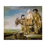 The Milkmaid's Family, 1641 Giclee Print by Louis Le Nain