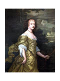 Portrait of Frances, Duchess of Richmond, C1662-1665 Giclee Print by Peter Lely