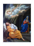 The Dream of Saint Joseph, C1636 Lámina giclée por Philippe De Champaigne