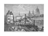 Blackfriars Bridge, London, 1864 Giclee Print by Mason Jackson