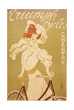 Poster Advertising Triumph Bicycles, 1907 Giclee Print by  Misti
