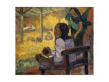 Be Be (Christma), 1896 Giclee Print by Paul Gauguin