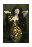 Norma Whalley, Australian Actress, Early 20th Century Giclee Print by Miller and Lang