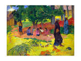 Taperaa Mahana, (Late Afternoo), 1892 Reproduction procédé giclée par Paul Gauguin