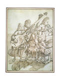 A Concert, Late 17th or 18th Century Giclee Print by Pier Leone Ghezzi
