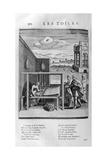 Weaver, 1615 Giclee Print by Leonard Gaultier