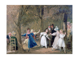 Reunion in the Luxembourg Gardens, 1761-1845 Giclee Print by Louis Leopold Boilly