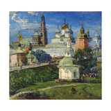 The Trinity Lavra of St Sergius in Sergiyev Posad, 1910S Giclee Print by Michail Boskin