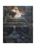 Au Jardin Des Gemmes, 1924 Giclee Print by Leon Carre