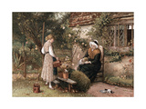Youth and Age, 1866 Giclee Print by Myles Birket Foster