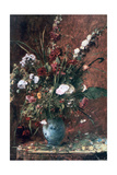 Great Flower Still Life, 1881 Giclee Print by Mihaly Munkacsy