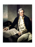 James Cook, English Explorer, Navigator and Hydrographer, 1775-1776 Giclee Print by Nathaniel Dance-Holland