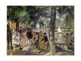 Bathing on the Seine (La Grenouillér), 1869 Giclee Print by Pierre-Auguste Renoir