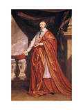 Cardinal Richelieu, French Prelate and Statesman, 1640 Giclee Print by Philippe De Champaigne