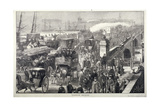 London Bridge, London, 1872 Giclee Print by Joseph Swain