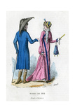 Fashion of 1804 (1882-188) Giclee Print by  Meunier