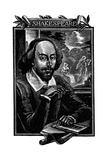 William Shakespeare, English Playwright and Poet Giclee Print by Mihajl Ivanovic Pikov