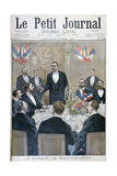 Banquet of French Nationalist and Paul Déroulède, Saint-Sebastien, Belgium, 1900 Giclee Print by Oswaldo Tofani