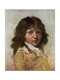 Head of a Boy, Early 19th Century Giclee Print by Louis Leopold Boilly