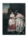 Mrs Page and Mrs Ford Reading Falstaff's Love Letters, Late 18th-Early 19th Century Giclee Print by Matthew William Peters