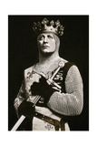 Lewis Waller (1860-191), Actor and Theatre Manager, in Henry V, 1908-1909 Giclee Print by  Langfier