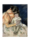 Mother and Child, Late 19th or Early 20th Century Giclee Print by Mary Cassatt