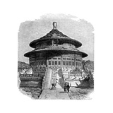 The Temple of Heaven, Peking, C1890 Giclee Print by  Laplante
