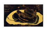 Manao Tupapau (Spirit of the Dead Watchin), 1893-1894 Giclee Print by Paul Gauguin