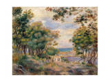 Landscape at Beaulieu, 1899 Giclee Print by Pierre-Auguste Renoir