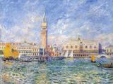 Venice, (The Doge's Palace), 1881 Giclée-tryk af Pierre-Auguste Renoir
