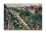 Berlin, Unter Den Linden, 1922 Giclee Print by Lovis Corinth