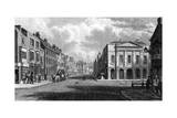 The High Street, Newport, Isle of Wight, 1844 Giclee Print by Philip Brannon