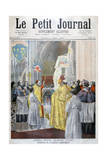 Service Commemorating Joan of Arc, Notre Dame, Paris, 1894 Giclee Print by Oswaldo Tofani