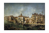 View of the Canal Grande from the Fondamenta Del Vin, 1736-1737 Giclee Print by Michele Marieschi