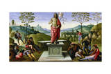 Resurrection of Christ, 1495 Giclee Print by  Perugino