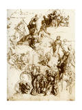 Sketch for the Martyrdom of St George, 1913 Giclee Print by Paolo Veronese