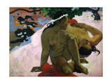 Aha Oe Feii (Are You Jealous), 1892 Giclee Print by Paul Gauguin