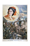 Jeanne Hachette, French Heroine, 1894 Giclee Print by Paul Merwart